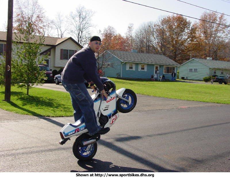 wheelies anyone?